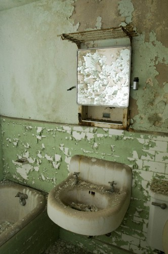 Typical bathroom.