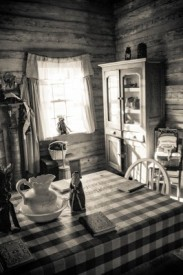 Cabin Kitchen at Arkansas Post State Park