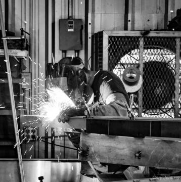 Photo by CARY JENKINS Bray's Sheet Metal, Little Rock, Arkansas