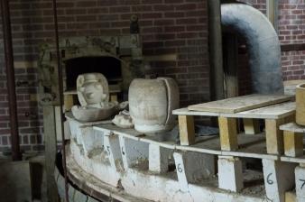Arkansas Democrat Gazette photo by Cary Jenkins Entrance to one of the tunnel kilnsCamark Pottery Factory, Camden Arkansas