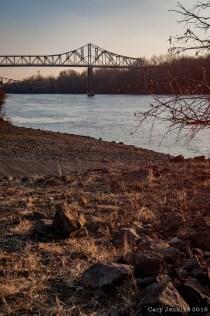White River Bridge from Boat Landing